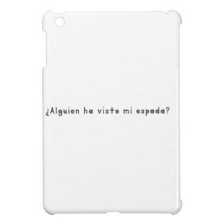 Espagnol-Épée Coques Pour iPad Mini