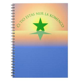 Espéranto : Juste le carnet de début