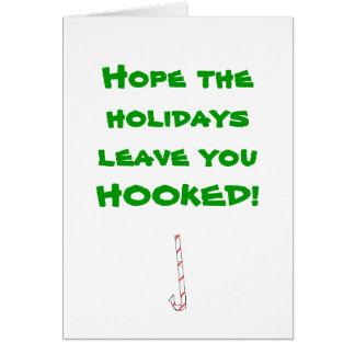 Espérez le congé de vacances où vous VOUS ÊTES ACC Carte De Vœux