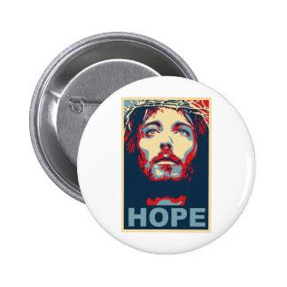 Espoir de Jésus-Christ Badge Rond 5 Cm