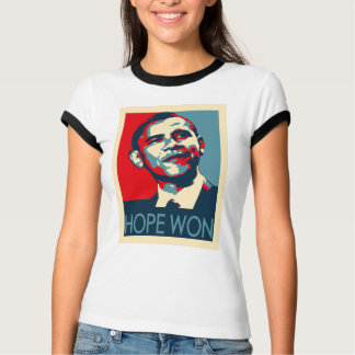 Espoir d'Obama gagné T-shirt