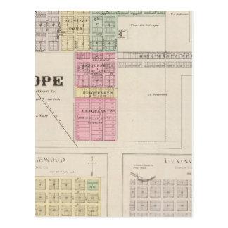 Espoir, Englewood, Lexington, le Kansas Carte Postale