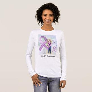 """""""Espoir pour la fibromyalgie"""" (long T-shirt de"""