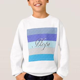 ESPOIR sur le bleu Sweatshirt