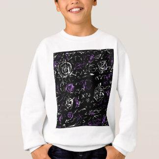 Esprit abstrait - pourpre sweatshirt