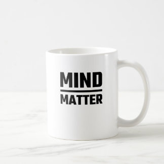 Esprit au-dessus de matière mug