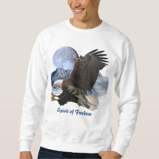 ESPRIT de chemise de faune d'Eagle chauve de Sweatshirt