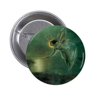 Esprit de la nuit par Grimshaw, fée victorienne Badge Rond 5 Cm