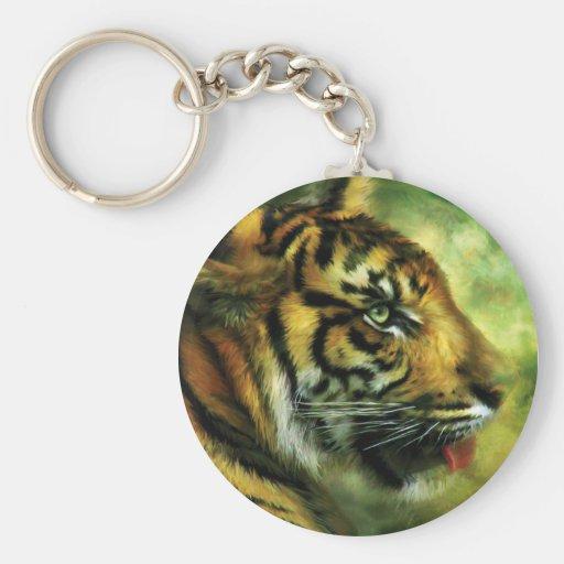 Esprit de l'art Keychain de tigre Porte-clefs