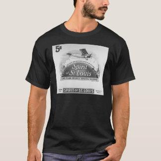 Esprit d'emballage vintage de cigare de St Louis T-shirt