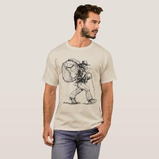 Esprit libre augmentant le monde t-shirt