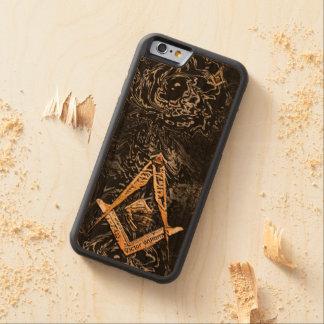 Esprits maçonniques (YellowSwish) Coque iPhone 6 Bumper En Cerisier
