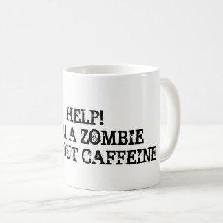 Essai de rester focalisé sans café mug