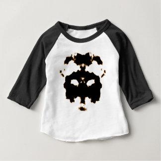 Essai de Rorschach d'une carte de tache d'encre T-shirt Pour Bébé