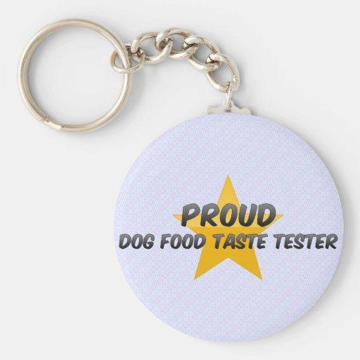 Essayeur fier de goût d'aliments pour chiens porte-clés