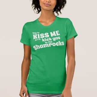 Essayez DE M'EMBRASSER T-shirt