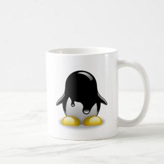 Essence de Linux Mug Blanc