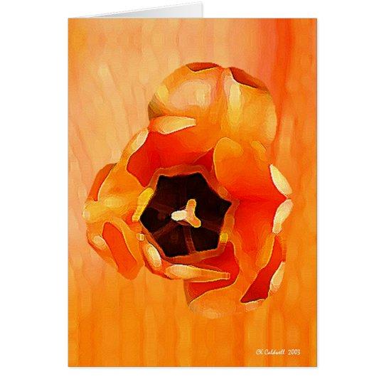 essence orange carte de v ux zazzle. Black Bedroom Furniture Sets. Home Design Ideas