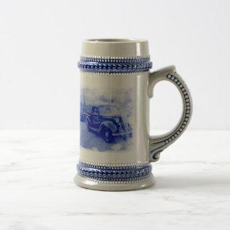 Essex-Terraplane vintage Stein en céramique Tasses