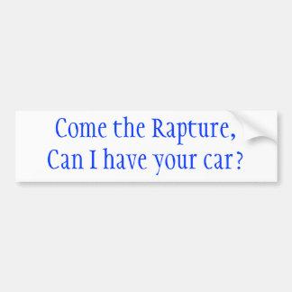 Est-ce queenchantement, je venez pouvez avoir votr autocollant de voiture