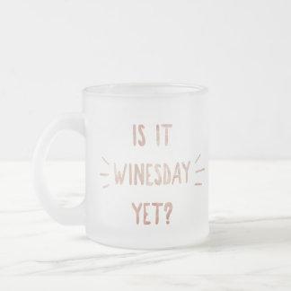Est-ce Winesday encore ? Tasse givrée