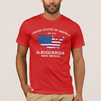 EST DES ETATS-UNIS. ALBUQUERQUE 1776 Nouveau T-shirt