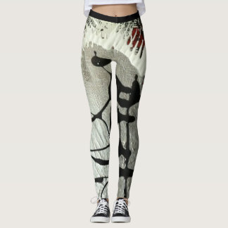 Est descendu l'usage actif d'abstractions de leggings