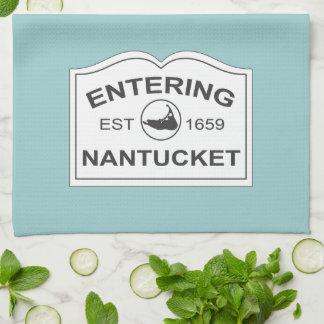 Est entrant de Nantucket. 1659 signez dedans le bl Serviette Éponge