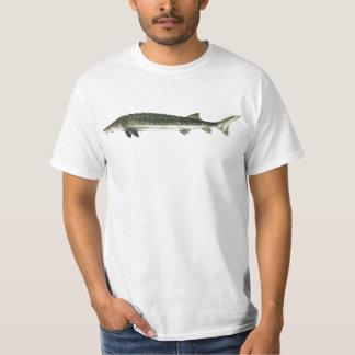 Esturgeon vert - medirostris d'Acipenser T-shirts