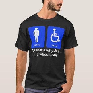 """""""Et c'est pourquoi Jer dans les types T d'un T-shirt"""