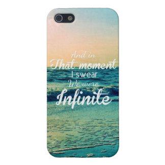 Et dans ce moment, je jure que nous étions infinis coques iPhone 5