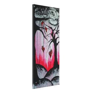 - Et - l'art sec élevé d'Orig d'arbres de coeur a Toiles Tendues