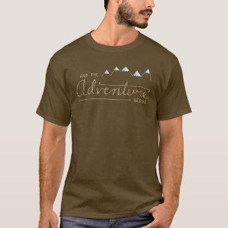 Et l'aventure commence le T-shirt des hommes