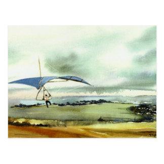 """""""Et loin"""" carte postale"""