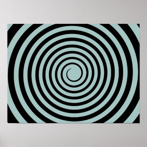 Et noire de crépuscule modèle customisé par spiral poster