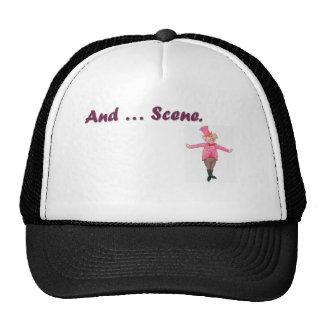 Et… scène casquettes