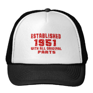Établi 1951 avec toutes les pièces originales casquette trucker