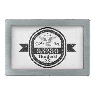 Établi dans 93230 Hanford Boucle De Ceinture Rectangulaire