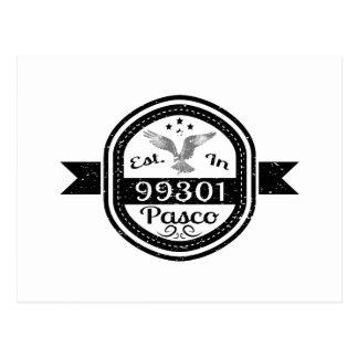 Établi dans 99301 Pasco Cartes Postales