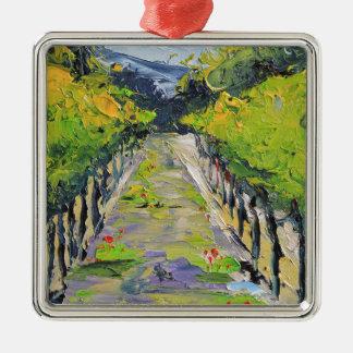 Établissement vinicole de la Californie, vignes de Ornement Carré Argenté