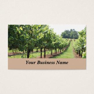 Établissement vinicole et vignoble cartes de visite