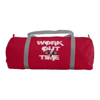 Établissez le sac de gymnase de Duffle de temps