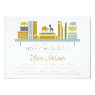 Établissez une invitation de baby shower de
