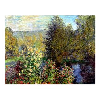 Étang de jardin par la carte postale de Monet