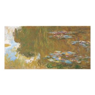Étang de nénuphar par Claude Monet Photocarte Personnalisée
