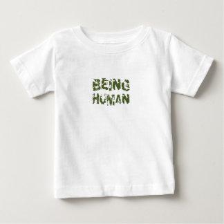 Étant humain t-shirt pour bébé