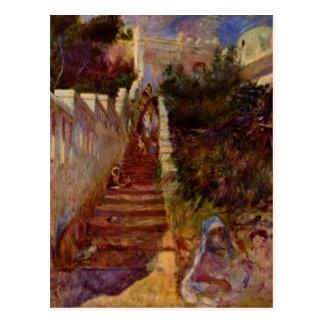 Étapes à Alger par Pierre-Auguste Renoir Cartes Postales