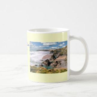 Étapes de Bedruthan, les Cornouailles Mug