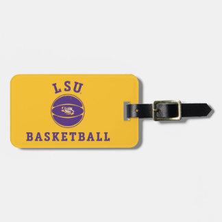 État 4 du basket-ball | Louisiane de LSU Étiquette Pour Bagages