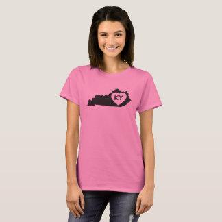 État de base du Kentucky d'amour du T-shirt I des